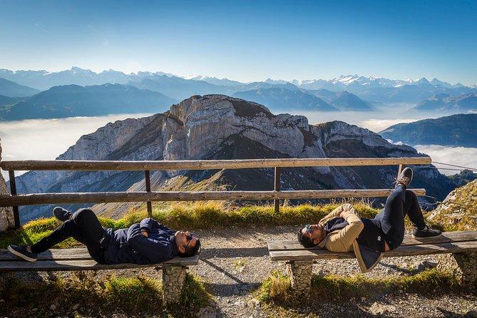 Mt Pilatus Ultimate Adventure Tour with Hiking, Rope park and Alpine Toboggan, Lucerna, SUIZA