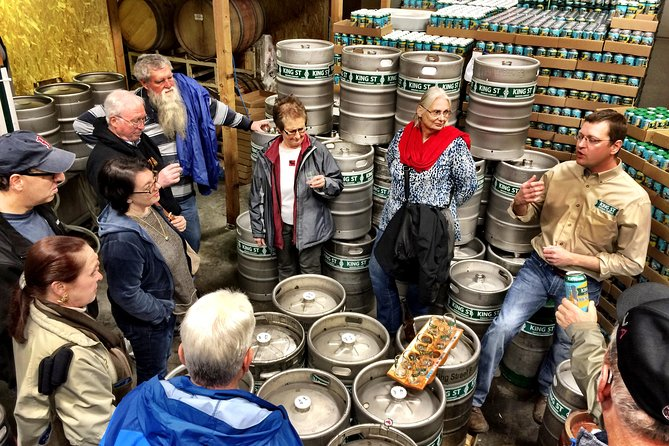 Explore 3 of Anchorage's best off-the-beaten path breweries on this tasty guided tour. See beautiful downtown Anchorage en route to a mix of new and classic breweries. You can learn a lot about a place from its beer, and Alaska is certainly no exception, with a proud beer history and current thriving scene. Learn the inside scoop on the local beer culture and brewery history from your informative guide, meet locals and savor those delicious suds.