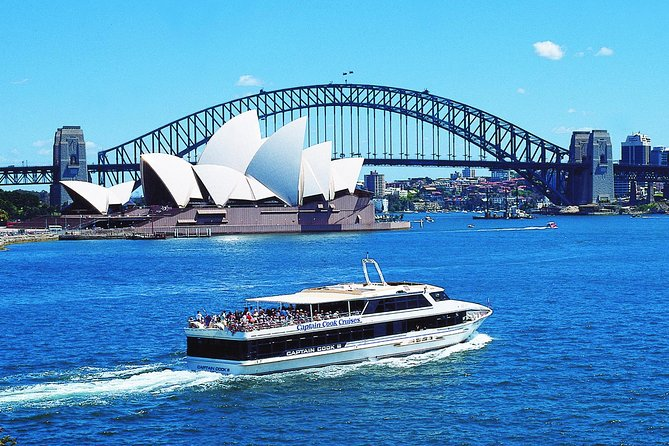 Take in panoramic views of top city attractions from the waves on this up to 2-hour Sydney Harbour sightseeing cruise. Choose from a morning or afternoon tour and head out into the harbor. Admire the imposing Sydney Opera House, Sydney Harbour Bridge and Fort Denison from your vantage point out on deck. Enjoy a cup of tea or coffee with a delicious biscuit selection and learn of the area's fascinating heritage from the live on-board commentary. Your live on-board commentary will focus heavily on the stories of Sydney if you have chosen the Harbour Story Cruise option.