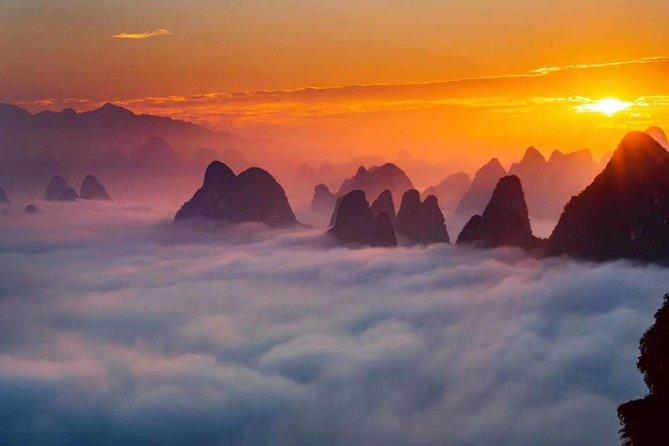 Half-Day Yangshuo Xianggong Mountain Sunrsie Private Tour from GUILIN hotel, Guilin, CHINA