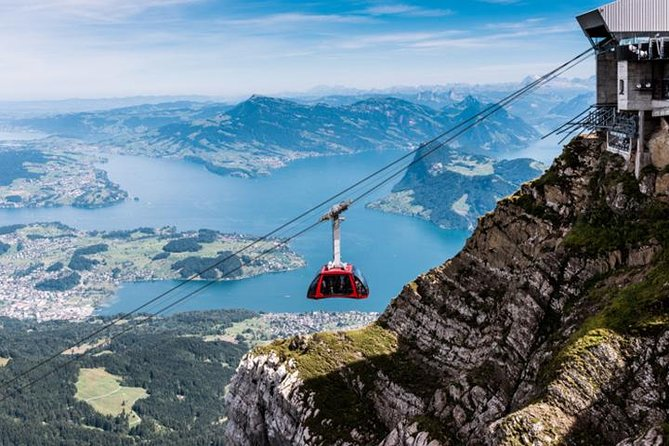 ALL TRANSPORT INCLUSIVE Mt. Pilatus Guided Golden Roundtrip Tour, Lucerna, Switzerland