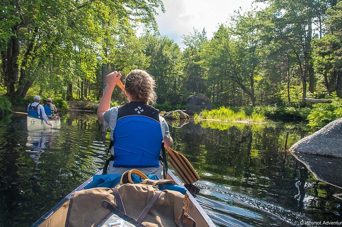 This trip is best suited for families with children, or folks who want a slightly easier trip without compromising any adventure.<br><br>Explore Kejimkujik National Park's classic 3-day canoe adventure. This route has been traveled by many over the decades of park history, and for good reason! Comfortable campsites are connected by a system of small picturesque lakes and rivers dappled in green. Campsites are far enough apart that quite often you feel we're the only group traveling through that wilderness