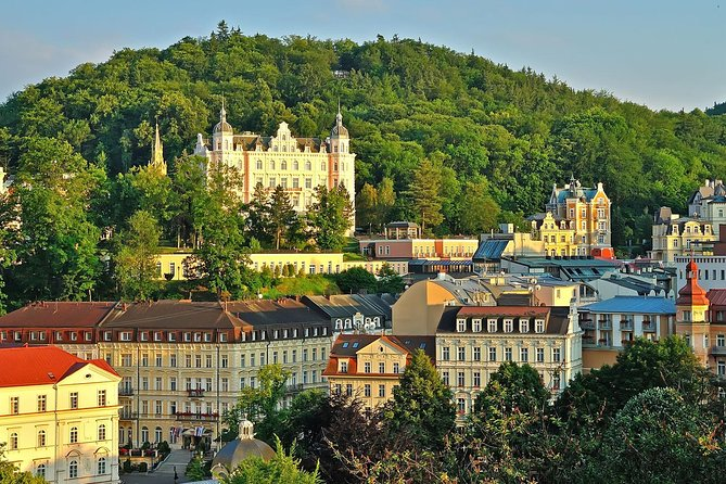 Karlovy Vary and Loket castle is natural combination as the castle is not very far from the city.<br><br>Karlovy Vary is globally known spa town frequented by tourists for almost 200 years. You probably heard about its mineral springs you can taste for free in a city centre and about her famous colonnade. Karlovy Vary is also a center of film festival every summer.<br><br>Loket castle stands strong since the 13th century and even though it was renovated many times, it still keeps its medieval form. You will have an opportunity to see both its exterior and interior and its famous exhibition of torture chambers.