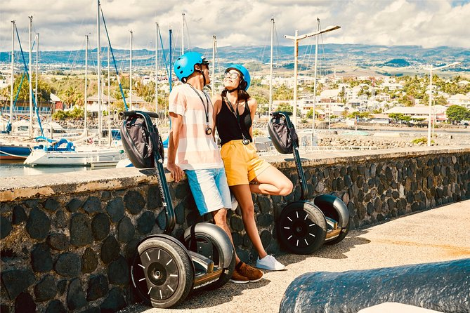 """Twohours of pure fun Segway to discover or rediscover Saint Pierre """"historical & Seaside"""". <br><br>Program : <br><br>A walk of twohours Segway invites you to discover the colonial charm of the southern capital. In the wake of the East India Company, you will relive the time of the founding of the Year First River neighborhood with warehouses and wharves dedicated to the coffee trade. <br><br>Discover the history of the port of Saint-Pierre, his bourgeois villas of Neo-classical style and the city center for tropical design, witnessed a prosperous time based on the sugar industry in the nineteenth century. A circuit not to be missed to understand the soul of Mahavel, loft living of the old Bourbon."""