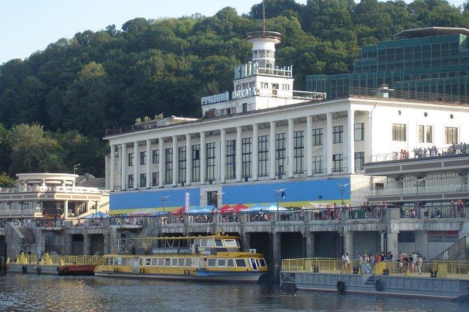 Crucero turístico por el río Dniéper desde Kiev, Kiev, UCRANIA