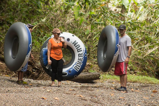 This is the perfect combination of rain forest, waterfall and ad tubing. Excellent for all types of explorers.