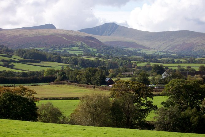 A 'must see' scenic tour to the Brecon Beacons National Park to see the best countryside in Wales. Also visiting the UNESCO National Coal Mining Museum of Wales 'Big Pit' to do the famous underground tour.<br><br>Tour of the Brecon Beacons National Park<br><br>Drive through and over the mountain range to Brecon town (inc lunch time)<br><br>Scenic photo stop<br><br>Brecon Cathedral<br><br>National Park Visitors Centre<br><br>Short walk (optional) - Up to the site of an Iron age hill-fort (optional - 30 minute total walk, subject to weather conditions).<br><br>Panoramic views throughout the day.<br>*<br>*<br><br>Please note: this day tour is dependent on minimum numbers. Updates via Viator message box or text will be sent with final confirmation or cancellation by 1pm the day before or sooner when the minimum numbers have been reached.