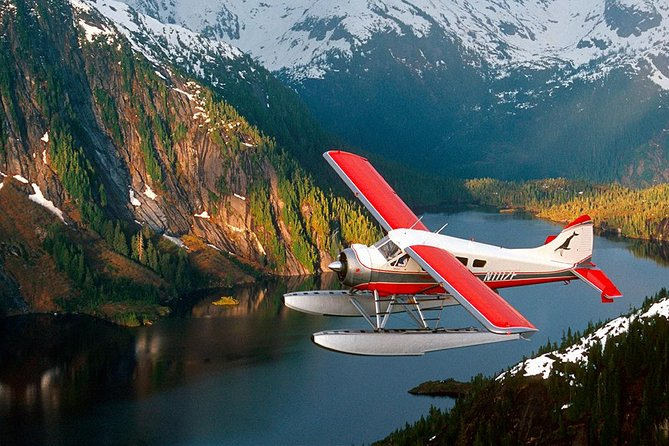 Island Wings Air Service is owned and operated by Alaska veteran pilot Michelle Masden, who started flying in 1977 and began her business in Ketchikan in 1993. Island Wings takes the time and makes the effort to help you realize your Alaskan dreams. Share our love of flying through our vast Alaskan wilderness. Experience the freedom of flight over the wild grandeur of the mountains, the islands and the endless sea. Our focus is the quality of your experience. From the handling of your reservation, to the equipment we operate, to the places we visit; we don't compromise and neither should you. The total time for this tour is 2.5 hours including: the two hour flightseeing tour and fifteen minutes for the pick-up and fifteen minutes for the drop-off. This tour takes you on a flight from Ketchikan to the Misty Fjords National Monument with a landing on a freshwater lake or a saltwater fjord with approximately a thirty minute stopover.