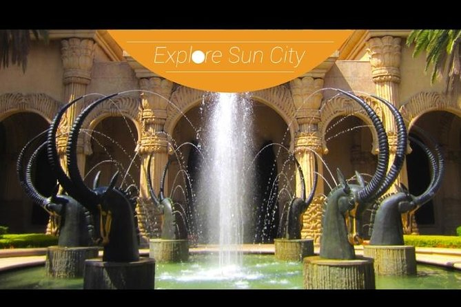 Visit Sun City Johannesburg with entrance fees and round-trip transportation included on this convenient day tour. Skip the hassle of renting a car and simply enjoy the scenery on the way to Sun City