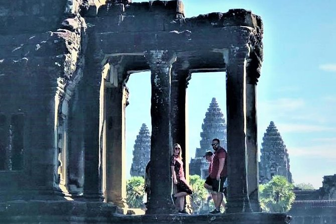 The temples of Angkor are truly one of the world's greatest archeological wonders, and this full-day, guided, small group tour is the perfect way to experience the magic of thisancient civilization. Wander the halls of Angkor Wat and see the faces of stone at Bayon, while also visiting Angkor Thom and the tree-laden temple, Ta Prohm. Transport is included from Siem Reap hotels, as is a professional historian guide who can help bring the temples to life.