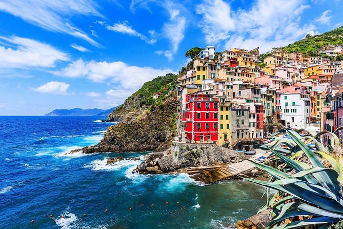 Spend an unforgettable day discovering the breathtaking Cinque Terre region on this must-do tour from Florence, with transport between villages included. Explore the picturesque fishing villages of the UNESCO-listed area by coach, boat and train with a Tour Leader, and fall in love with the distinctive atmosphere and architecture of each town. From Riomaggiore's cobbled streets to Monterosso's stunning beaches, the Cinque Terre is a scenic treasure and this tour offers a picture-perfect snapshot of old-world Italy.