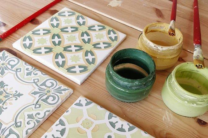 Tile painting workshop, Oporto, PORTUGAL