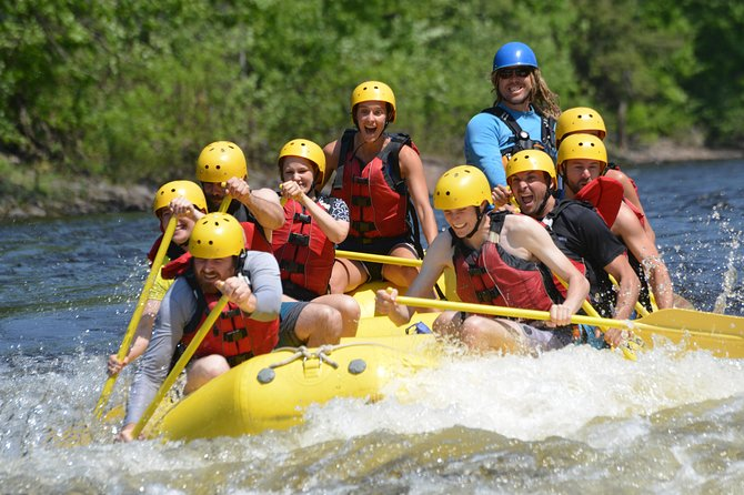 Half-Day White Water Rafting on the Rouge River, ,