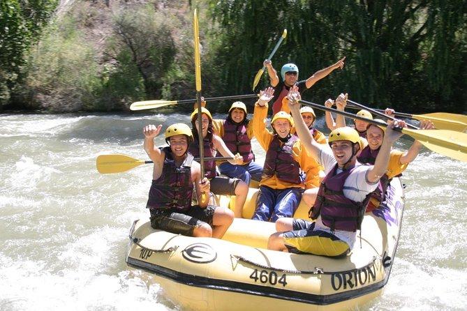 Rafting en el rio Mendoza, Mendoza, ARGENTINA
