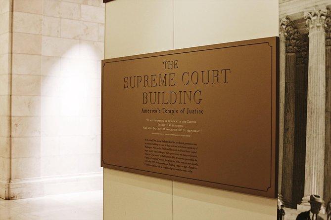 Capitol Hill w/ Supreme Court & Library of Congress Tour - 8ppl Max, Washington DC, ESTADOS UNIDOS