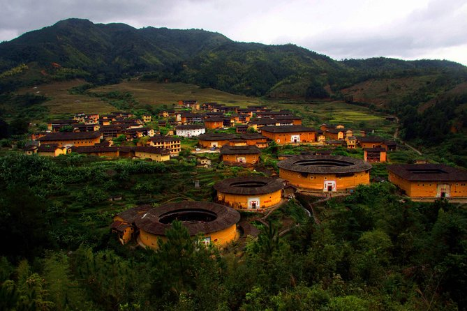 Tulou, or Earth Buildings, is one of the UNESCO sites near Xiamen, and well-known for its unique Hakka culture. This private day trip will let you explore Yongding Tulou, the representative of Tulou, for its spectacular architecture and long history of Hakka people. Please note there are different tulous, and you can choose other tours if you prefer Nanjing Tulou.