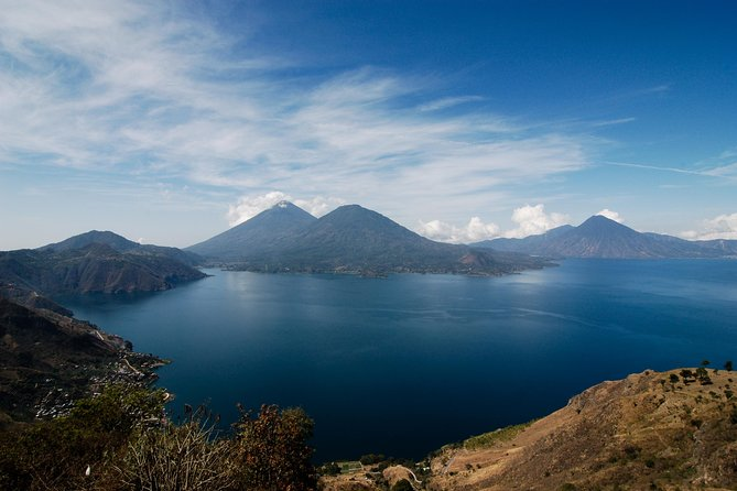 Lake Atitlan is one of the most beautiful destination in Guatemala. You cannot miss this place. This day tour is ideal if you want to experience culture and nature in one activity. Our driver will pick you up at your hotel in Antigua to take you in a 2:30 hour drive to the beautiful highlands of Guatemala. This transfer is private an exclusively for you and your family or friends. This transportation mode gives the opportunity to stop along the road at couple of places that are worth visiting, such as the lake's viewpoint. Our tour guide is a local Mayan inhabitant that will share with you his knowledge as a certified guide but also his experience in life as a Mayan descendent.<br>