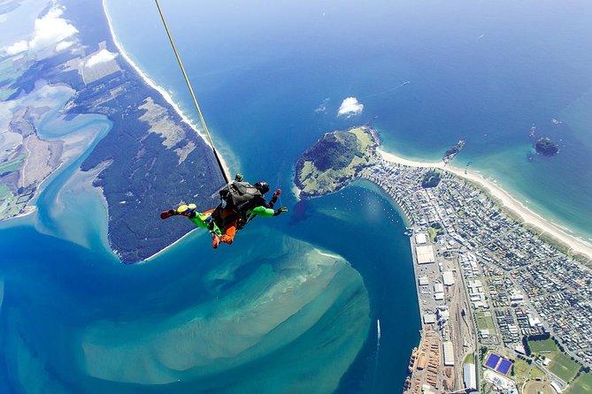 12,000ft Tandem Skydive, Tauranga, NUEVA ZELANDIA