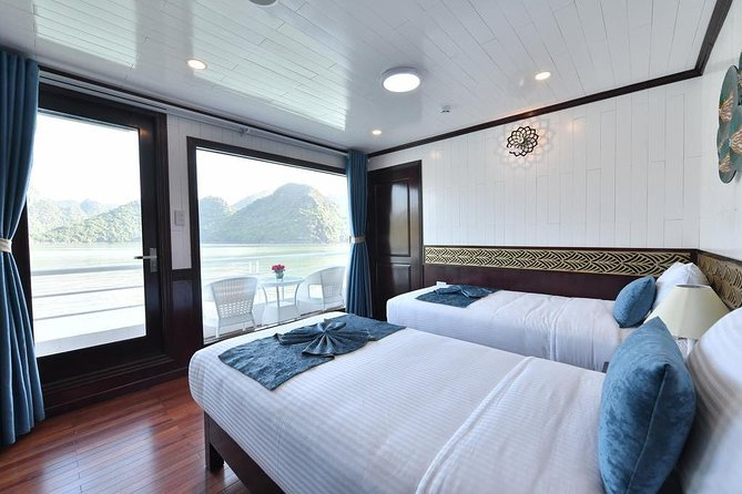 ALL-INCLUSIVE 2D/1N on Premium Cruises by LIMOUSINE BUS from Hanoi, ,