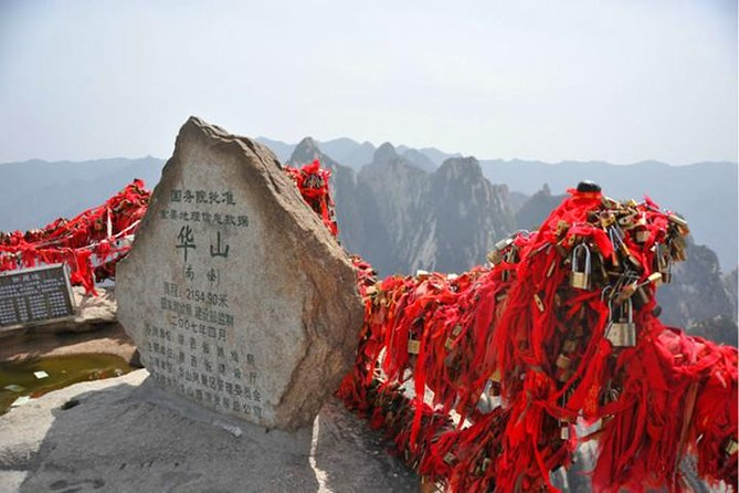 Private Day Tour of Mt. Huashan with Round-Trip Cable Car from Xi'an, Sian, CHINA