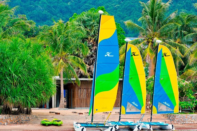 Sailing is an absolute joy by harnessing the power of the wind to propel the boat forward. Learn how to sail either an optimist or a Hobie Catamaran. Our RYA trained instructor can teach you all you need to know to sail singly handed safely. Starting from scratch, our instructors will teach you the basics. With some land based theory and lots of practical practice. You can learn the beautiful art of sailing. Our Sailing Club is the only one in Cambodia that is associated to the Cambodian Sailing Federation. The waters warm with very few hazards. Our internationally trained Lead instructor has several years of training others under his belt. We have a well maintained fleet of fun and challenge vessels to learn on. We are the only sailing school on the coast of Cambodia.