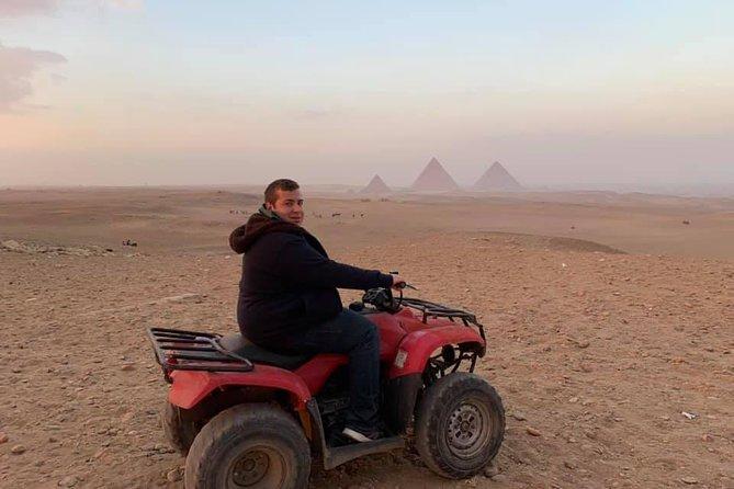 Giza pyramids ,sphinx ,quad bike &camel ride Cairo Giza hotel with expert guide, Guiza, Egypt