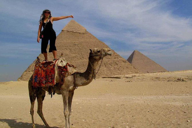 Giza pyramids sphinx sakkara memphis from Cairo Giza hotel with expert guide, Guiza, EGIPTO