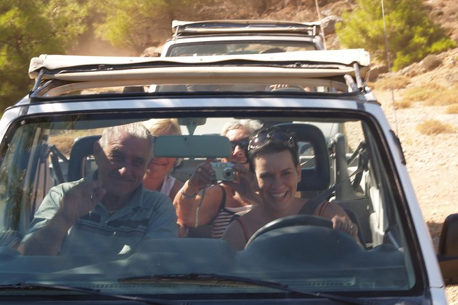 Half-Day Island of Rhodes Jeep Driving Safari with Pickup, Rhodes, Grécia