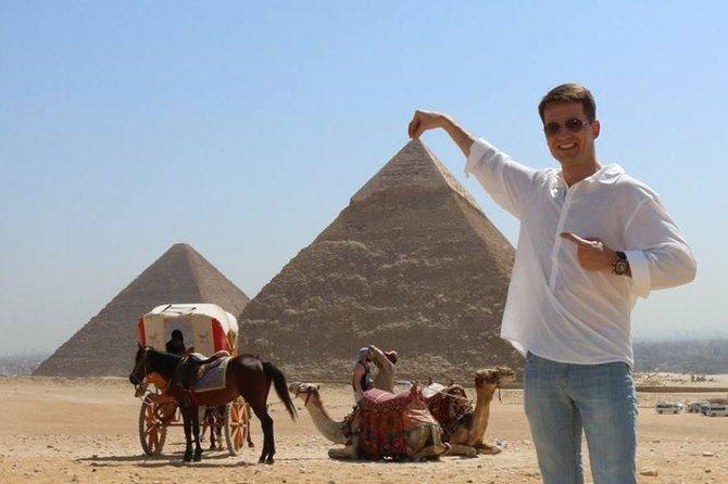 Giza pyramids, sakkara, Memphis& Dahshur from Cairo Giza hotel with expert guide, Guiza, EGIPTO