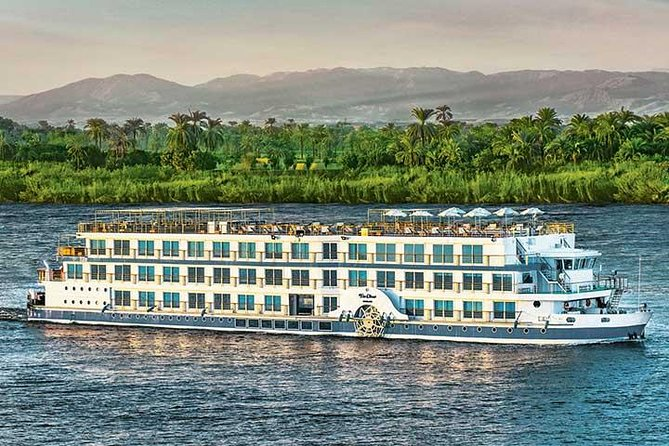 Enjoy a Nile River cruise between Aswan and Luxor to take in the highlights of ancient Egypt. You'll travel by overnight Sleeper train from Cairo to Aswan. <br><br>Highlights <br><br>Experience the SLEEPER TRAIN  travel between Cairo / Aswan - Luxor / Cairo <br><br>See the Philae Temple and the High Dam in Aswan<br><br>Visit the Valley of the Kings in Luxor<br><br>Enjoy a 5-star luxury Nile River cruise
