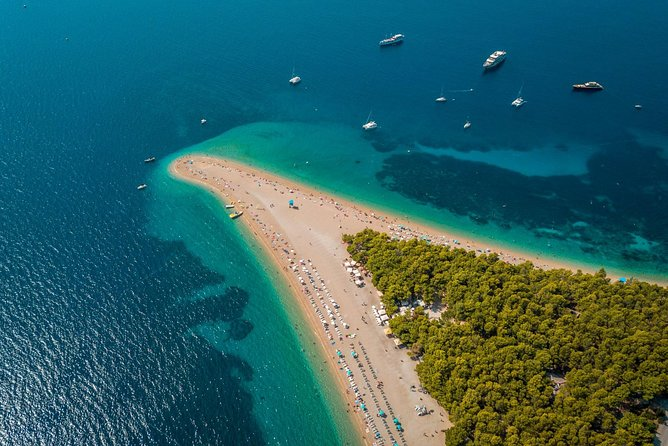 Spend a full day island hopping and get to know Croatia's beaches and history. Visit ancient fishing villages and world famous beaches, dine on the sea front and see historic towns from the walled fortresses above. Stroll on the beach, swim, or relax and sip cocktails at a local beach bar. Tailor the itinerary to suit your style. Snorkel and safety gear, and fuel costs are included. There will be opportunities to purchase lunch and drinks during the tour.