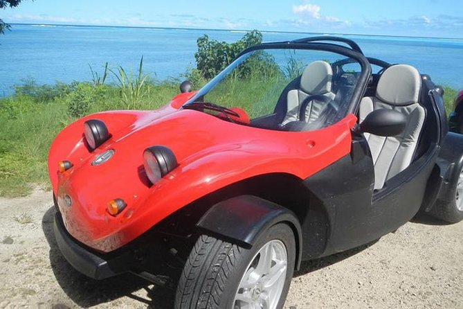 Rent a F440 Roadster and explore the beautiful island of Moorea. The roadster seats 2 people, has automatic transmission and a removable hood. Go with or without the roof with the wind in your hair. Take in the stunning coastal and interior views as you drive around the entire island of Moorea stopping off at beautiful beaches and exploring Moorea's many attractions.