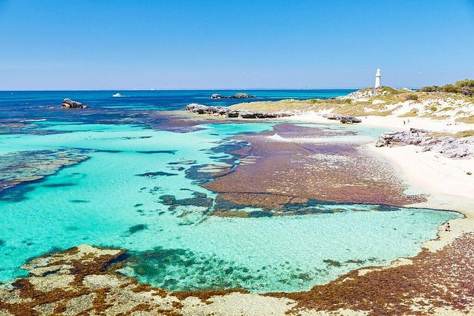 PLEASE NOTE: DUE TO THE IMPACT OF COVID-19, THIS PACKAGE IS TEMPORARILY UNAVAILABLE UNTIL 31ST AUGUST 2020. <br><br>Explore the stunning beauty of Rottnest Island in air-conditioned comfort on this 1-hour 45-minute bus tour with live commentary. Take in the amazing fauna and flora of the island, striking beaches, woodlands and incredible salt lakes. This tour includes all of Rottnest's must-see locations including the Wadjemup Lighthouse, Henrietta Rocks, the majestic look out point at the rugged Cathedral Rocks and Cape Vlamingh.