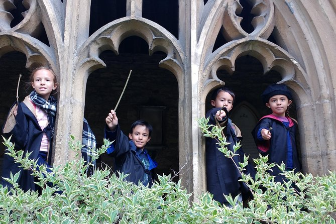 From Sep 1st, this tour visits inside the only Harry Potter film site now open to the public- the Divinity school at the Bodleian Library. Entry fee worth £2.50 per person is included in your ticket.<br><br>How does studying at Oxford University compare with studying atHogwarts School of Witchcraft and Wizardry? Find out on this 90 minute walking tour of Oxford Harry Potter film sites, Fun tour for Muggles of all ages. Guide will cater the tour according to everyone's interests, introducing also Oxford heritage.<br><br>Due to social distancing, tours will be limited to small family size groups<br><br>