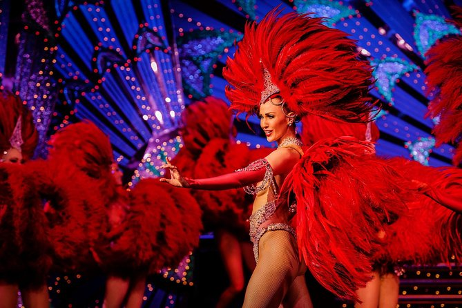 Dinner and Show at the Moulin Rouge with Hotel Pickup, Paris, FRANCE