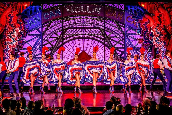 Dinner and Show at the Paris Moulin Rouge with Transport, Paris, FRANCIA