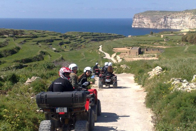 This tour will give you a good taste of Gozo, the sister Island of Malta, making your holiday memorable. Our aim is to show you the most of our island especially the beautiful hidden corners of Gozo. With the quad tour, you can reach points that by coaches or mini buses would be impossible; therefore short cuts can be used thru the country side, take dramatic photographs and see breathtaking sceneries while you still visit the highlights of the island.