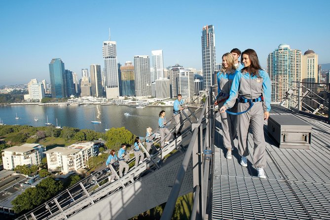 Rise to the challenge and climb Brisbane's iconic Story Bridge! You'll enjoy 360-degree panoramic views from the summit, taking in Moreton Bay, the Glass House Mountains, Lamington National Park and the Brisbane River. Your climb leader will provide a safety briefing and commentary to your group, sharing interesting facts about Brisbane's surrounds and the Story Bridge on your 2-hour climb.