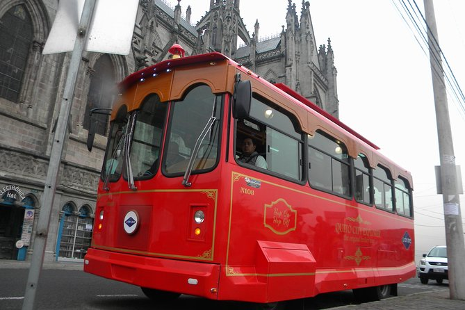 The Original Quito City Tour in Trolley with Hotel Pick-up, Quito, ECUADOR