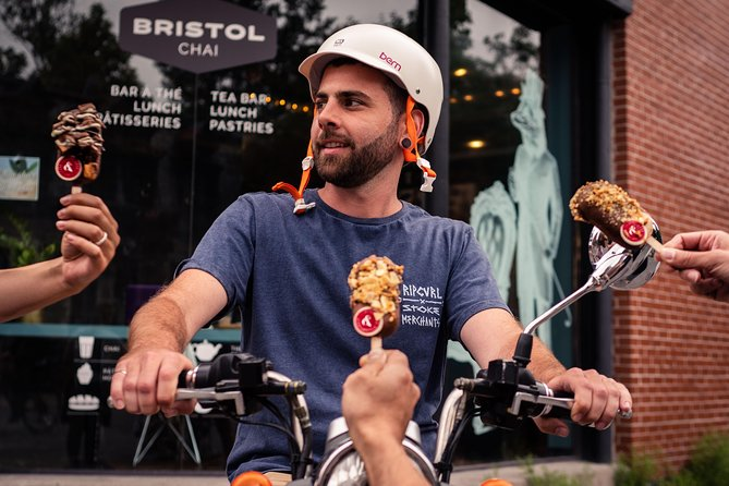 Montreal Food Tour with Electric Scooter, Montreal, CANADA