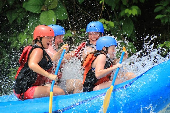 A journey of unsurpassed beauty, jungle vegetation and exploding whitewater. <br><br>For the adventuresome beginner and experienced rafter the Class II and III rapids will have you filled with adrenaline as you paddle hard over the waves. Along the way you will be astounded by the awesome canyons, waterfalls, and primary rainforest of Costa Rica. The Savegre River is a magnificent stretch of whitewater that begins its course by winding out of a sparsely inhabited valley in the mountains. This trip also includes a stop at a beautiful waterfall. <br><br>Includes breakfast, snack, lunch, certified equipment and guides, safety kayaker, and A/C transportation to and from hotels or houses in Manuel Antonio or Quepos.
