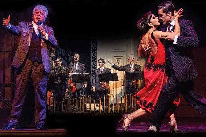 Cena y espectáculo de tango porteño, Buenos Aires, ARGENTINA