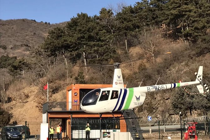 Don't miss enjoy the life experience helicopter tour at the famous Mutianyu session, here you will enjoy a 10 minutes helicopter ride ( not inclusive ) to overlook the entire great wall and it's surrounding unrepaired area from sky. In addition, you will have fun at the wall by taking cable car up and down / chairlift up and toboggan down (inclusive) based on your choices. Come and get a unforgettable experience from Beijing, China .