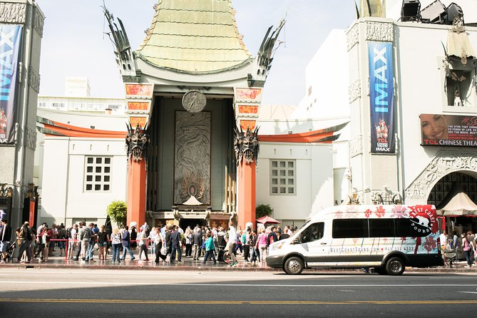Come enjoy all the highlights of Los Angeles with our local and experienced guides. <br><br>Starting in Downtown Los Angeles, you'll get the chance to see all the major sites and high-rise buildings LA is famous for!<br><br>Next stop Hollywood! Check out the World Famous HOLLYWOOD WALK OF FAME, GRAUMAN'S CHINESE THEATRE, the DOLBY THEATRE.<br><br>After exploring Hollywood, we then head-up to the HOLLYWOOD HILLS for a relaxing drive along MULHOLLAND DRIVE. There's nothing better than checking out CELEBRITY HOMES, and getting views of THE HOLLYWOOD SIGN.<br><br>Lunch stop is at THE ORIGINAL FARMERS MARKET - and iconic spot right in the middle of town with food options from around the globe!<br><br>From our lunch stop, our guests are taken through the iconic SUNSET STRIP.<br><br>Our next stop, is the world famous RODEO DRIVE in BEVERLY HILLS.<br><br>Upon making our way to the beach cities, our guests enjoy a panoramic view of the SANTA MONICA PIER before heading over for the last stop of the day at the funky VENICE BEACH.