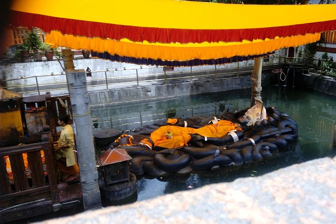 Visit Budhanilkantha Temple - The House of the Sleeping Lord Vishnu, Katmandu, NEPAL