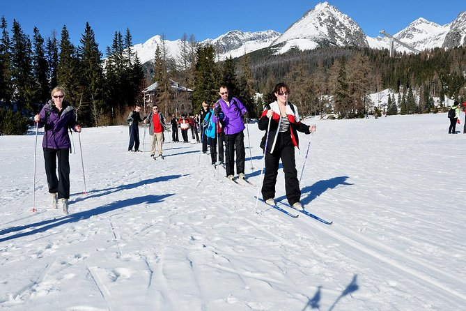 • We've included a cross country skiing lesson, so you can learn how to ski from a pro<br>• There are wonderful, scenic views of lakes and mountains as you ski along<br>• It's an active adventure in crisp, white snow - get a little bit fitter, soak up the fresh air and enjoy the powdery stuff at the same time!<br>• It's fully guided and all equipment is included, so you get expert tuition and a fascinating insight into the local area and culture, too