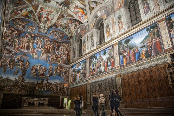 Vatican Museums & Sistine Chapel & St. Peters Basilica Early Entry Private Tour, Rome, ITALY