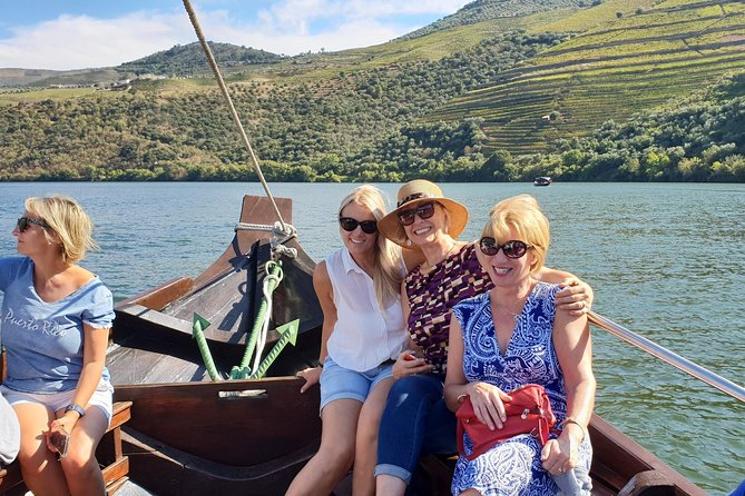 Visit the Douro Valley, a UNESCO World Heritage Region with a rich history and culture that's stood the test of time. Your guide ( specialized in douro wines) will take you to typical villages, high quality wine producers and you will see the sights from the water during a 1-hour river cruise. Enjoy a delicious, local lunch at a traditional restaurant. You will also have the opportunity to try locally made olive oil on this full-day tour with premium service.