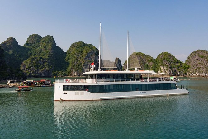 Halong Bay 1 Day with the most luxurious cruise, Halong Bay, VIETNAM