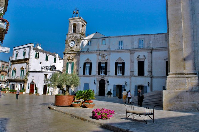 Explore Martina Franca with a licensed guide, in the centre of the Itria Valley<br><br>Highlights:<br><br>Discover the many palaces in the Baroque and Rococo style Explore the white city among alleys and churches. Visit a real jewel in a rich landscape of trulli.
